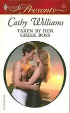 Taken By Her Greek Boss (Harlequin Presents), Cathy Williams, Good Book