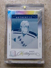 09-10 UD The Cup Masterpieces Printing Plates MICHAEL DEL ZOTTO 1/1 CYAN