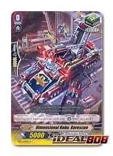 Cardfight Vanguard  x 4 Dimensional Robo, Gorescue - BT13/078EN - C Mint