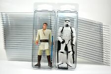 """20 - Action Figure 4"""" Plastic Storage Cases - (Brand new clamshells)"""
