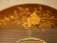 nice old alpine Zither with nice wooden inlays!!
