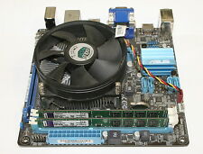 Asus P8H61-I Mini-ITX Motherboard Intel I3-2100 3.1 Ghz CPU + 4GB DDR3 Memory