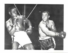 ROCKY MARCIANO vs EZZARD CHARLES 8X10 PHOTO BOXING PICTURE