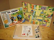Tim und Struppi - Wer entführte Professor Bienlein? Brettspiel Herge 1987