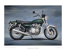 "Kawasaki Z1000 (1977) - Limited Edition Art Print (of 50 only) 20""x16"" by S.Dunn"