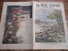 LE PETIT JOURNAL 1892   ATTAQUE DE DAHOMEENS DAHOMEY COLONIE CANON FRANCAIS
