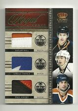 2011-12 Crown Royale Lineage Patch TAYLOR HALL Eberle Paul Coffey OILERS #12/25