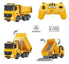 Mercedes Benz Arocs Tipper Dump Truck 1:20 Remote Control Construction Vehicle