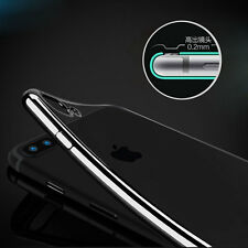 Flexible Clear Shockproof Glossy Silicone TPU Case Cover Skin for iPhone7 7 Plus
