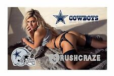 3x5 MAGNET FRIDGE LOCKER SEXY SPORTS GIRL Blonde Dallas Cowboys NFL Babe