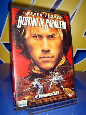 Pelicula EN DVD DESTINO DE CABALLERO  Heath Ledger