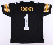 Dan Rooney Signed Steelers Jersey (JSA Hologram) Owner / 6X Super Bowl Champion