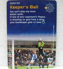 FOOTBALL CHAMPIONS PREMIER LEAGUE 2002-03 - KEEPER'S BALL - carta azione A30