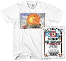 Allman Brothers Band - Distressed Eat A Peach T-Shirt L - White