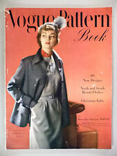 Vogue Pattern Book Magazine - December, 1948 / January, 1949