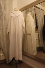 PAST TIMES white cotton nightdress -  Ditsy Vintage Victoriana - scrooge