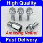 4 x ALLOY WHEEL LOCKING BOLTS FOR MG ZT ZTT / ROVER 75 SECURITY LUG NUTS [RM6]