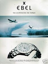 Publicité Advertising 1997 Montre Ebel