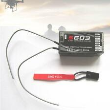 RC Pro S603 6 channel Full Range 2.4Ghz Receiver Spektrum AR610 BG RC Models TS