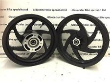 "MOBSTER HONDA CRF150 R SUPERMOTO MINIMOTARD 12"" MAG WHEEL SET with BEARINGS"