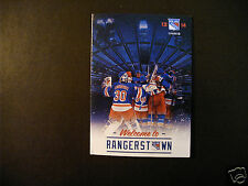 New York Rangers 2013-14 NHL pocket schedule - Chase