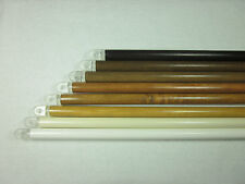 WOOD BLIND WAND WITH TIP - 8 COLORS TO CHOOSE - BRAND NEW - MADE IN THE USA