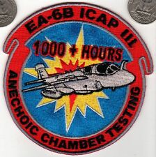 PATCH US Navy Air Force 1000+ Hours Anechoic Chamber Testing Aviation Test Pilot