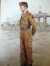 LIMITED EDITION OFFICER IST BN REGT OF YORKSHIRE BERLIN 1964 ALIX BAKER