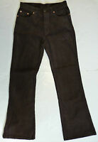 SALE! NEW MENS RETRO 60s 70s MOD INDIE FLARED CORDUROY FLARES CORDS (BROWN) k36