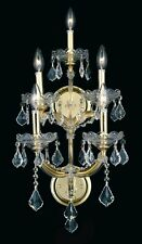 Palace Maria Theresa 5 Light Crystal  Wall Light in Gold