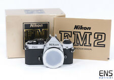 Nikon Fm2n 35mm Classic SLR Film Camera Silver Boxed Mint- - 8606982