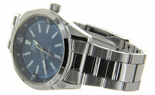 NEW Q&Q BY CITIZEN JAPAN MEN'S CASUAL WATCH QUARTZ STAINLESS STEEL BAND