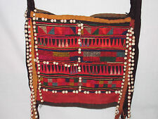 AKHA HILLTRIBE PURSE NOT MADE4SALE BARTERED MID80s HILL TRIBE SHOULDER BAG THAI