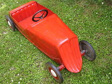 """Very old German pedal car """"Wanderer"""" Ferbedo Pre war! made of tin toy"""