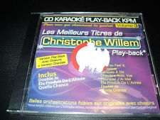 "CD NEUF ""KARAOKE PLAY-BACK KPM, VOLUME 3 : Christophe WILLEM"""