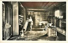 1940s? Real Photo PC; Kaasmakerij, Cheese Factory with Cheese Press, Netherlands