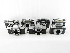 7x analoge Spiegelreflexkamera SLR Praktica FX 2 MTL Exa Ia 1c defekt spares
