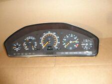 1996 MERCEDES BENZ S500 COUPE GAUGE CLUSTER SPEEDOMETER warranty