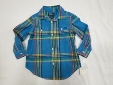 POLO by Ralph Lauren Baby Boy Striped Button-Down Shirt sz 3T