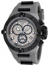 New Mens Invicta 17210 Subaqua Swiss Chronograph Grey Rubber Strap Watch