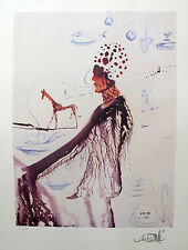 Salvador Dali EARTH GODDESS Facsimile Signed Limited Edition Lithograph