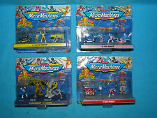 Power rangers mighty morphin micro machines set of 4 new in box