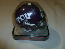 COLLEGE FOOTBALL GREG TOWNSEND #93 SIGNED HELMET NCAA TCU HORNED FROGS RAIDERS >