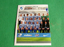 N°80 EQUIPE TEAM PART 1 GRENOBLE FOOT 38  PANINI FOOT 2009 FOOTBALL 2008-2009