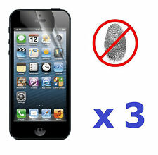 3 x New Anti-Glare Antiglare LCD Screen Protector Cover for iPhone 5 5th Gen