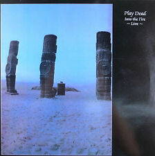 """LP 12"""" 30cms: Play Dead: into the fire live, new rose  C3"""