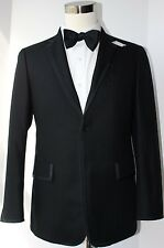 Brooks Brothers Black Fleece Black Three Button Side Vented Formal Jacket BB1