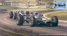 1966a BRABHAM-REPCO & COOPER-CLIMAX T81 NURBURGRING F1 cover signed JOHN LOVE