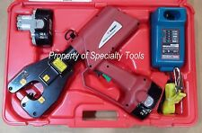 Burndy PAT4PC834 Hydraulic battery operated dieless crimper crimping tool