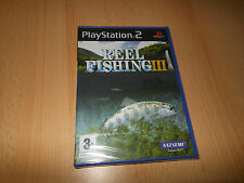 REEL FISHING 3 - BRAND NEW FACTORY SEALED -Sony Playstation 2